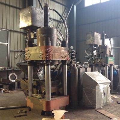 用金属屑压块机解决废旧金属屑各种难题