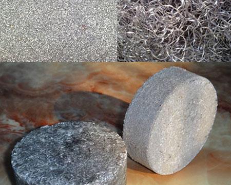 铝屑成型后样品