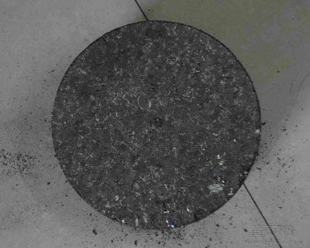 金属粉压块现场图