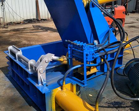 废铝型材压块机