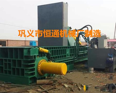 大型废铁压块机